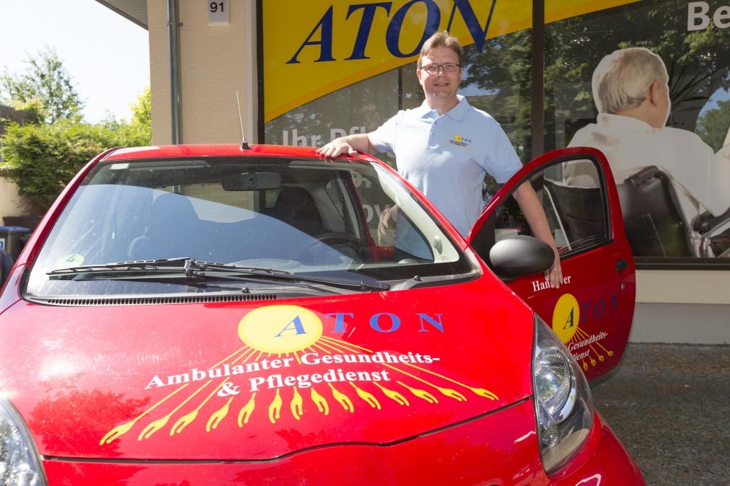 Dirk Wolter, Inhaber ATON Gesundheits- und Pflegedienst